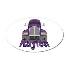 Trucker Kaylea 20x12 Oval Wall Decal