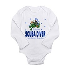 Unique Just like my grandpa Long Sleeve Infant Bodysuit