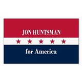 Jon Huntsman for America Decal