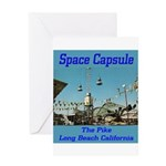 Space Capsule Greeting Card