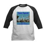 Space Capsule Kids Baseball Jersey