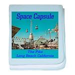 Space Capsule baby blanket