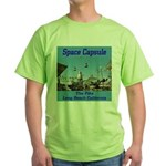 Space Capsule Green T-Shirt
