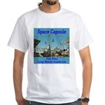 Space Capsule White T-Shirt