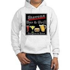 Personalized Bar and Grill Hoodie