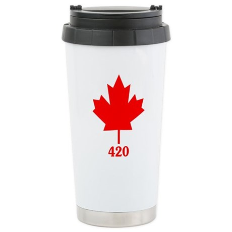 Canada 420 Ceramic Travel Mug
