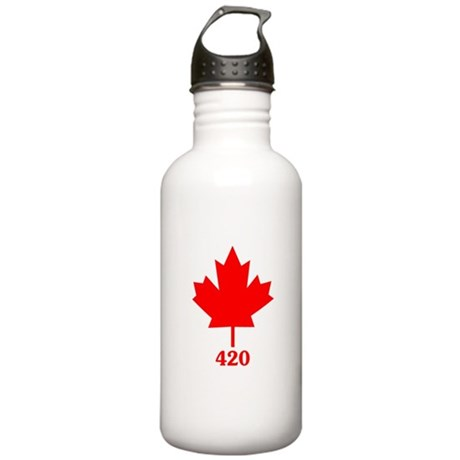 Canada 420 Stainless Water Bottle 1 Liter