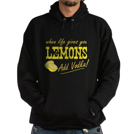 When Life Gives You Lemons Dark Hoodie