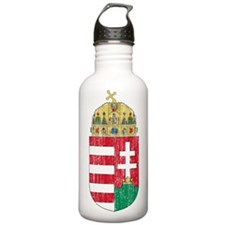 Hungary Coat Of Arms Water Bottle