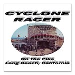 Cyclone Racer Square Car Magnet 3