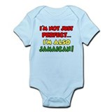 Not Just Perfect Im Jamaican Infant Bodysuit