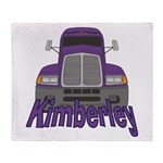 Trucker Kimberley Throw Blanket