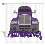 Trucker Kimberley Shower Curtain