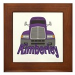 Trucker Kimberley Framed Tile