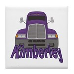 Trucker Kimberley Tile Coaster