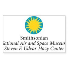 Smithsonian Rectangle Sticker
