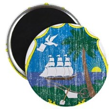 "Liberia Coat Of Arms 2.25"" Magnet (100 pack)"