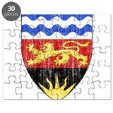Malawi Coat Of Arms Puzzle