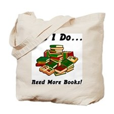 More Books! Tote Bag