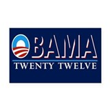 Obama Rectangle Car Magnet