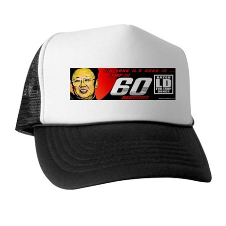 Anti Kim Jong Il Trucker Hat