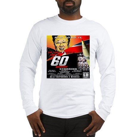 Anti Kim Jong Il Long Sleeve T-Shirt