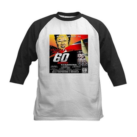 Anti Kim Jong Il Kids Baseball Jersey