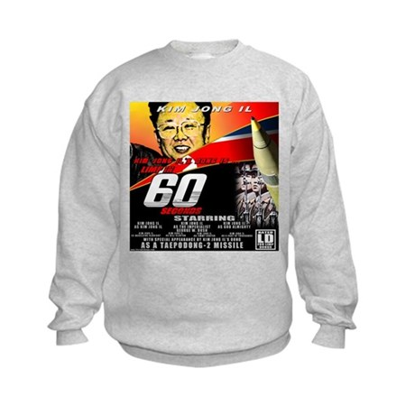 Anti Kim Jong Il Kids Sweatshirt