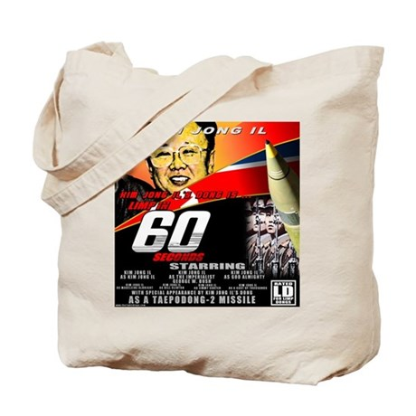 Anti Kim Jong Il Tote Bag