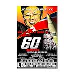 Anti Kim Jong Il Mini Poster Print