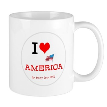 I Love America Mug