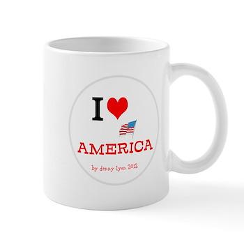 I Love America Mug