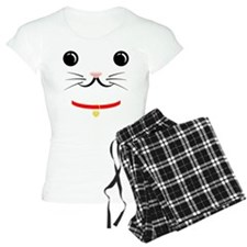 Lucky Cat Face Pajamas