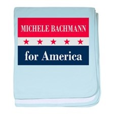 Michele Bachmann for America baby blanket