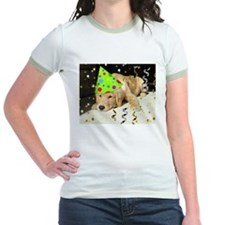 Birthday Party Golden Retriever T