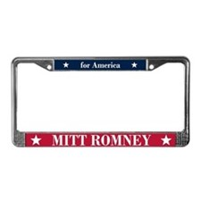 Mitt Romney for America License Plate Frame