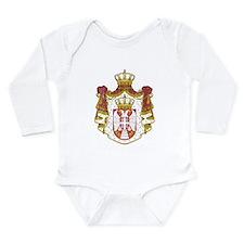 Serbia Coat Of Arms Onesie Romper Suit