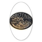 Arizona GC Sticker (Oval)