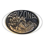 Arizona GC Sticker (Oval 50 pk)