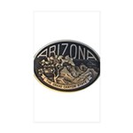 Arizona GC Sticker (Rectangle 50 pk)