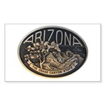 Arizona GC Sticker (Rectangle 10 pk)