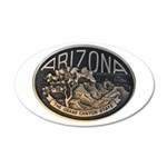 Arizona GC 35x21 Oval Wall Decal