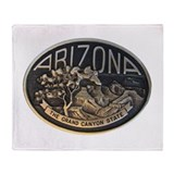 Arizona GC Throw Blanket