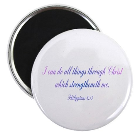 Philippians 4:13 Magnet