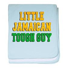 Little Jamaican Tough Guy baby blanket