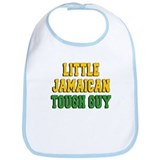 Little Jamaican Tough Guy Bib