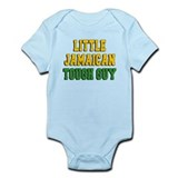 Little Jamaican Tough Guy Infant Bodysuit