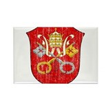 Vatican City Coat Of Arms Rectangle Magnet (10 pac