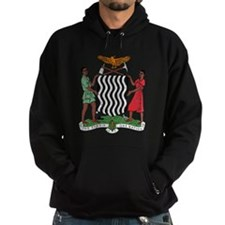 Zambia Coat Of Arms Hoodie