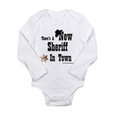 Cute Cowboy Long Sleeve Infant Bodysuit